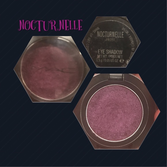 "MAC Cosmetics Other - MAC COSMETICS DISCONTINUED shadow ""NOCTURNELLE""!"